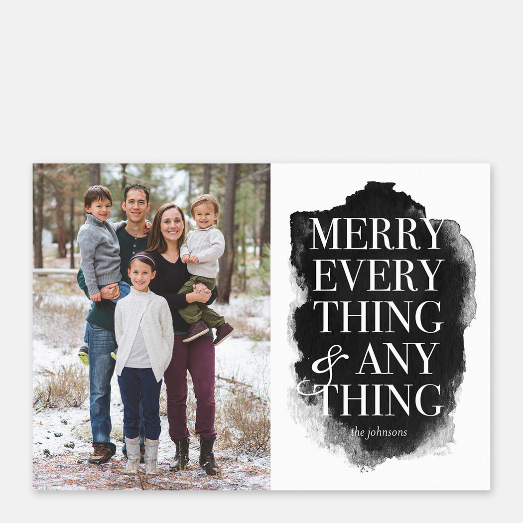Merry Everything Holiday Cards – Front View