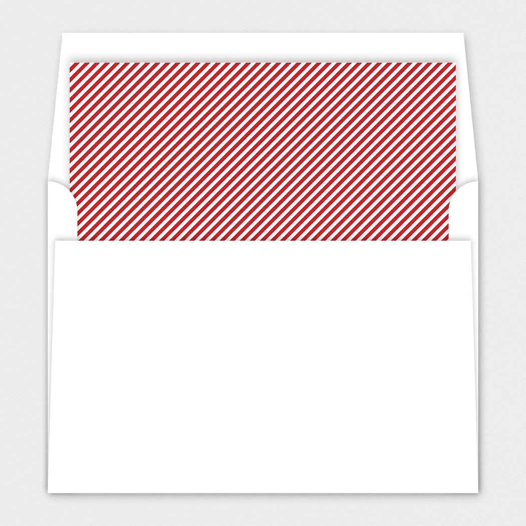 Pressed Plaid Holiday Cards – Envelope Liner