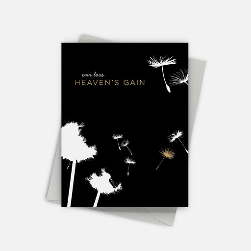Heaven's Gain Sympathy Card
