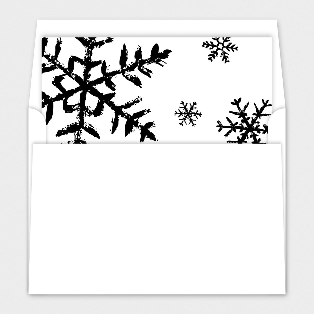 Scripted Blessings Holiday Cards – Envelope Liner