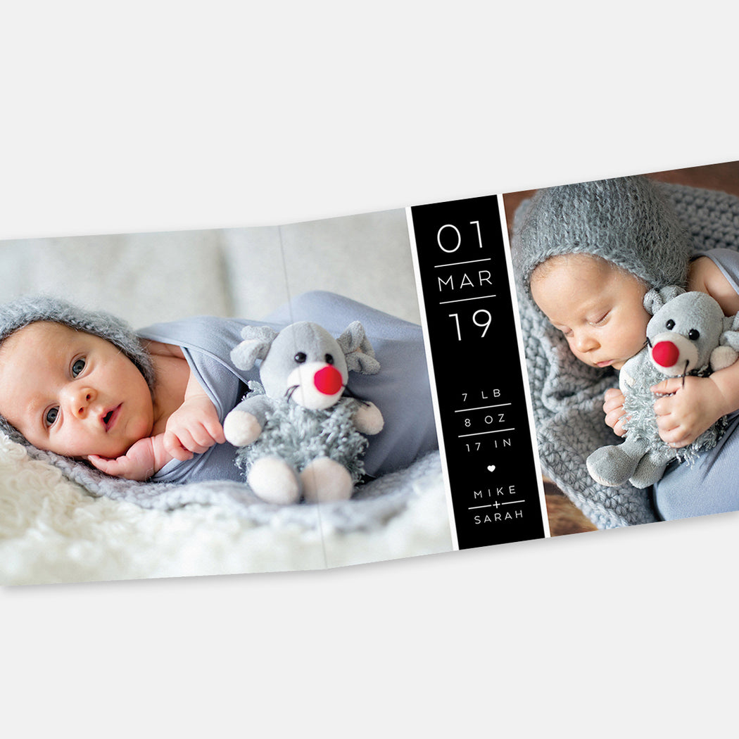 Sneak Peak Birth Announcements – Open View