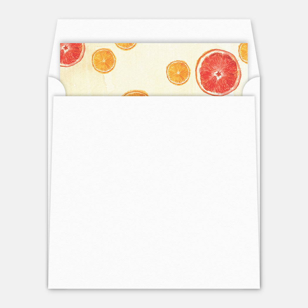 Summer Brunch Party Invitations – Envelope Liner