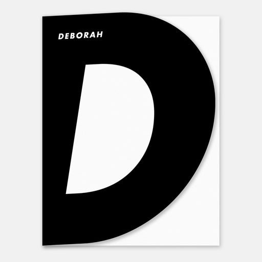 Super D Personalized Stationery Cards – Front View