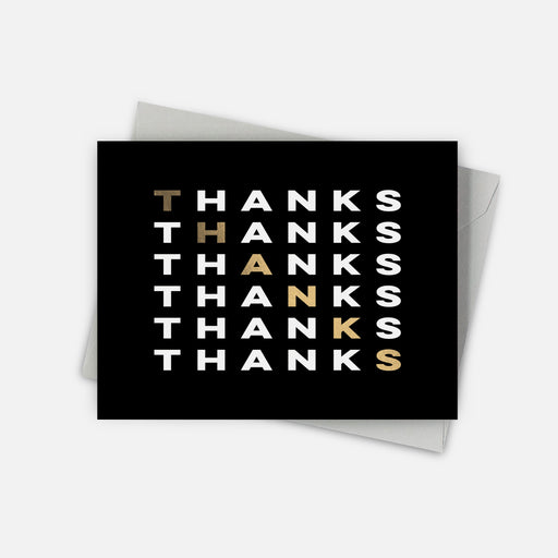 Stepped Thank You Card