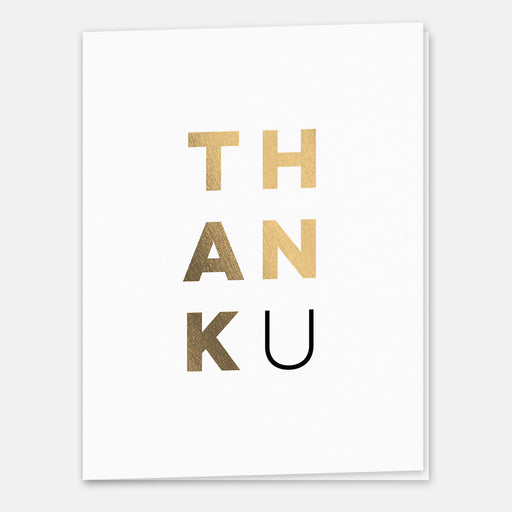 ThankU Cards – Front View