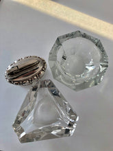 Load image into Gallery viewer, His and Her Crystal Vintage Ashtrays - Fumée Galante