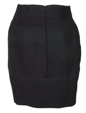 Vintage 1980's Azzedine Alaia Black Wool Skirt Suit SZ 38 French – XS