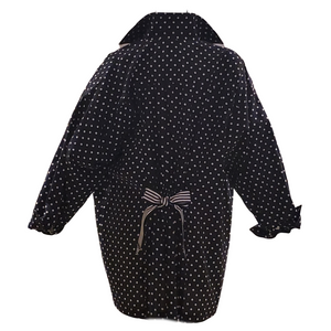 Vintage Bill Blass Cotton Polka Dot Lightweight Jacket