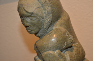 Inuit Serpentine Stone Sculpture