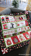 We Whisk you a merry Christmas by Kimberbell for Maywood Studio. Perfect christmas fabric for that wonderful Christmas Quilt