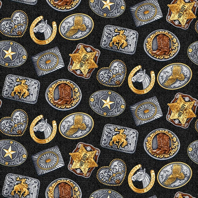 Wild Wild West - Rodeo Buckles