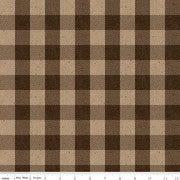 All About Plaids Buffalo Check Brown