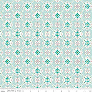 Granny Chic Wallpaper Blue
