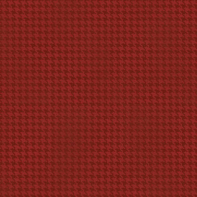 BLUSHED HOUNDSTOOTH RED
