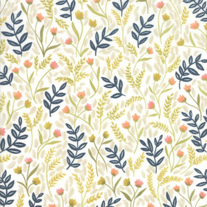 Goldenrod Meadow Floral White