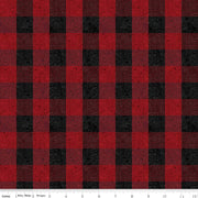 All About Plaids Buffalo Check Red