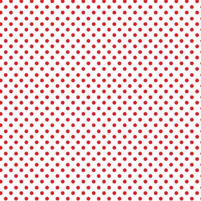 On the Dot/ Red and White