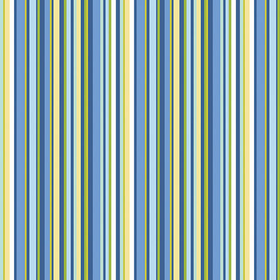 Front Porch Summer Stripe Blue