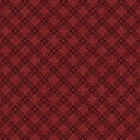 Farm Sweet Farm Diamond Lattice Dark red