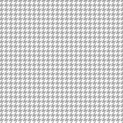 TINY HOUNDSTOOTH WHITE/GRAY