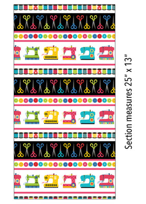 Sew Excited Sew Excited Stripe Multi