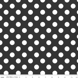 Medium Dot Black