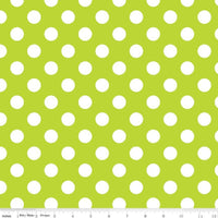 Medium Dots Lime