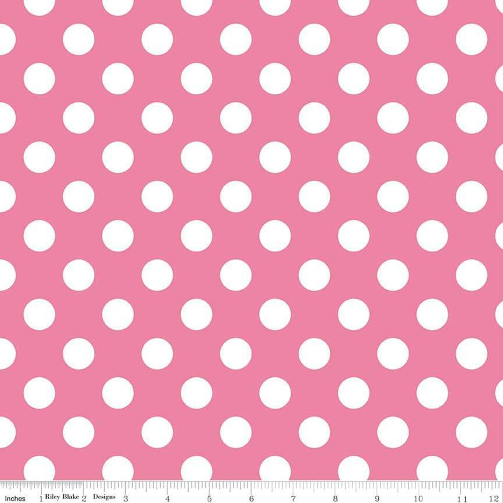 Medium Dots Hot Pink