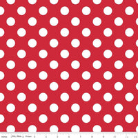 Medium Dots Red