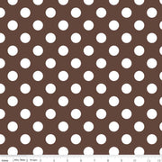 Medium Dots Brown