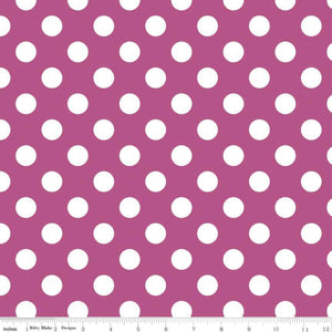 Medium Dots Fuscia