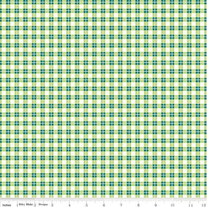 Harmony Farm Plaid Green
