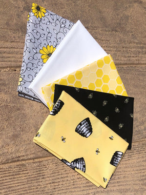 Honey Run 5 piece Fat Quarters bundle