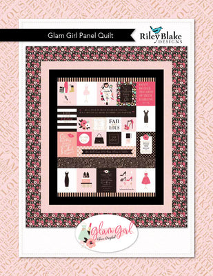 Glam girl panel quilt Pattern