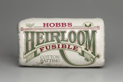 Heirloom® Premium 80/20 Fusible Cotton/Poly Blend Batting 45X60