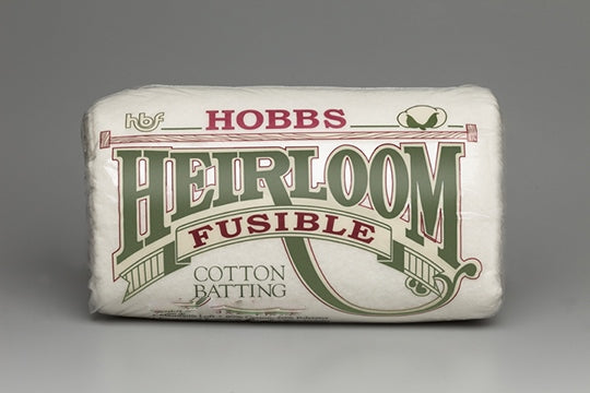 Heirloom® Premium 80/20 Fusible Cotton/Poly Blend Batting 90X108