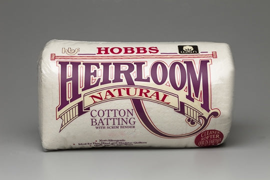 Heirloom® Premium 100% Natural Cotton with Scrim 90X108