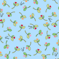 Lil' Sprouts Flannel Too Blue