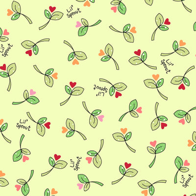 Lil' Sprouts Flannel Too Green
