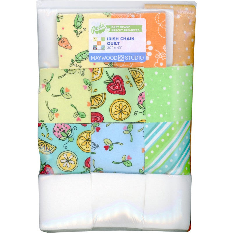 Lil' Sprouts Flannel Too  Irish Chain KIT
