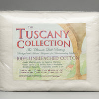 Tuscany Unbleached 100% Cotton 96X108