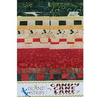 Candy Cane Lane by Island Batik 2.5""