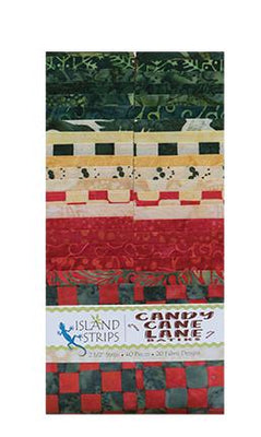 Candy Cane Lane by Island Batik 2.5