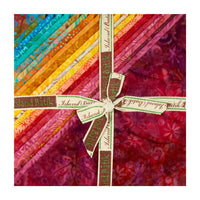 "Caribbean Breeze by Island Batik  Pre cut 10"" Square Stack"