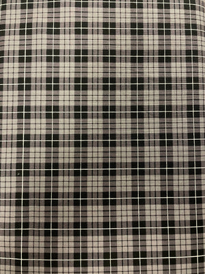 Wild at Heart Plaid Gray