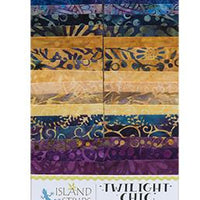 "Twilight Chic by Island Batik 2.5"" Strip Pack"