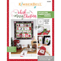 We Whisk You a Merry Christmas Kit (Embroidery Version)
