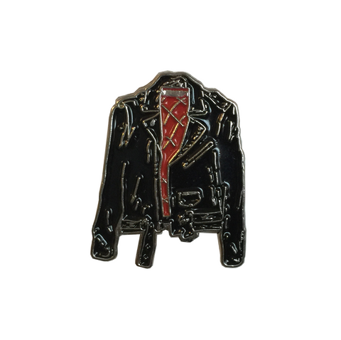 PIN LEATHER JACKET