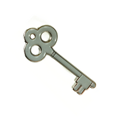 Emoji Key to my Heart Pin
