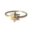 WIRE RING SIX SIDED STAR